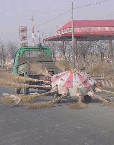 北京オリンピックにむけて清掃中?
